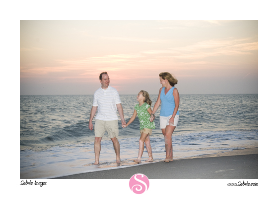 Captiva Island family beach portraits