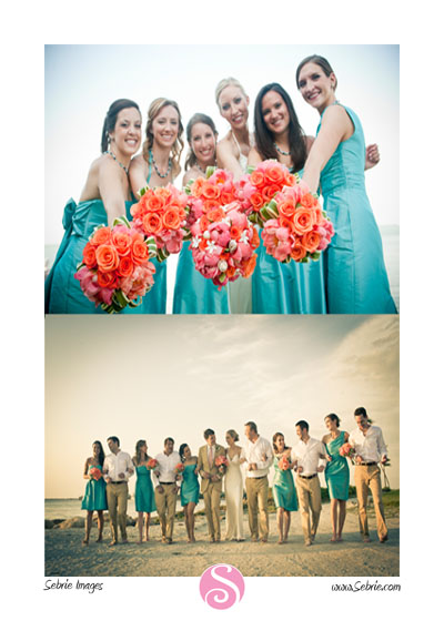 Captiva Wedding Photographer captures wedding party