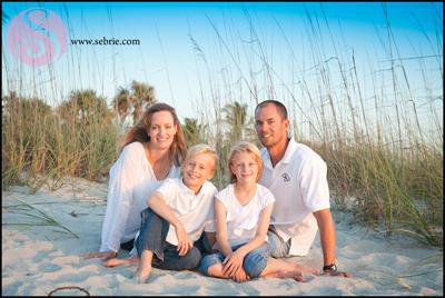 Captiva Island Family Portrait