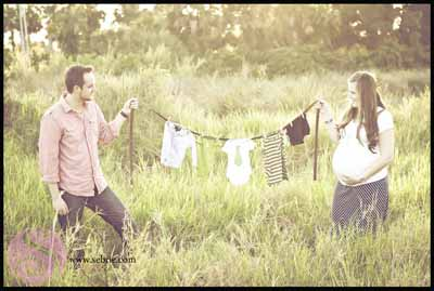 Creative Maternity Session
