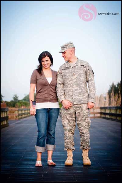 Military Engagement Portrait
