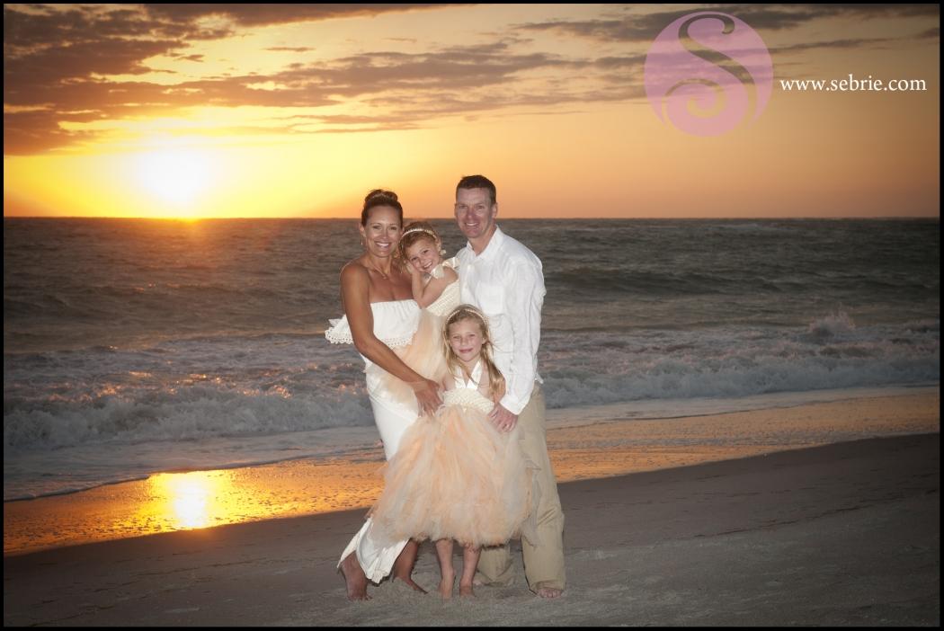 Captiva Island Sunset Portrait