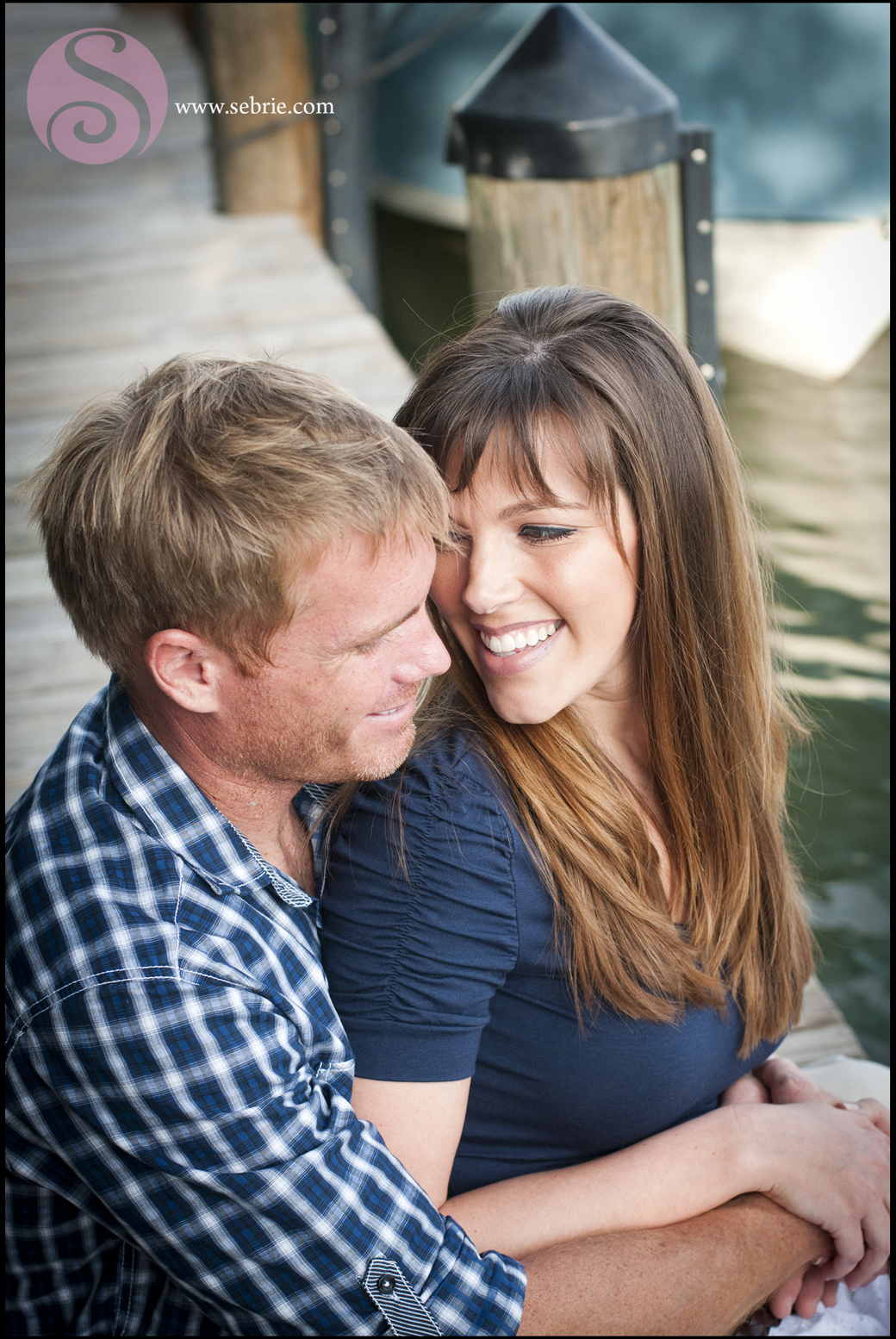 Nautical Engagement Portrait