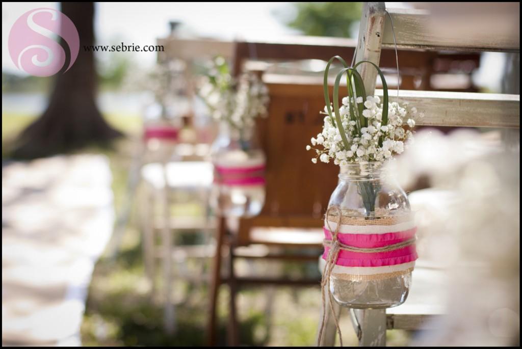 Vintage Beach Wedding Set Ups