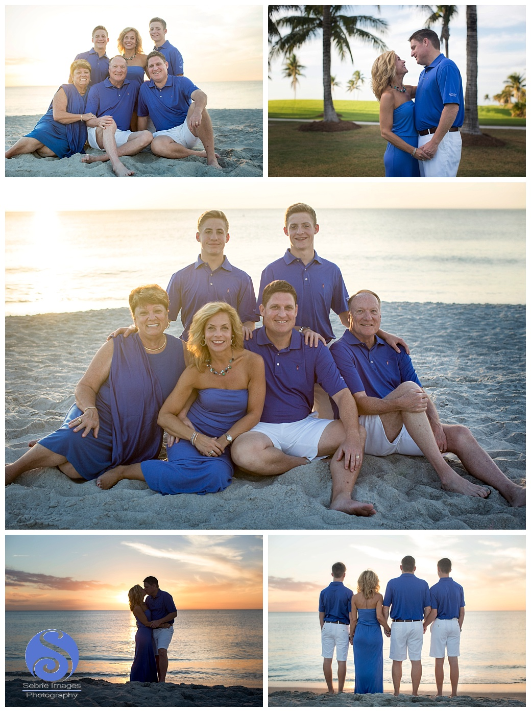 South Seas Island Resort Family Portrait Photography