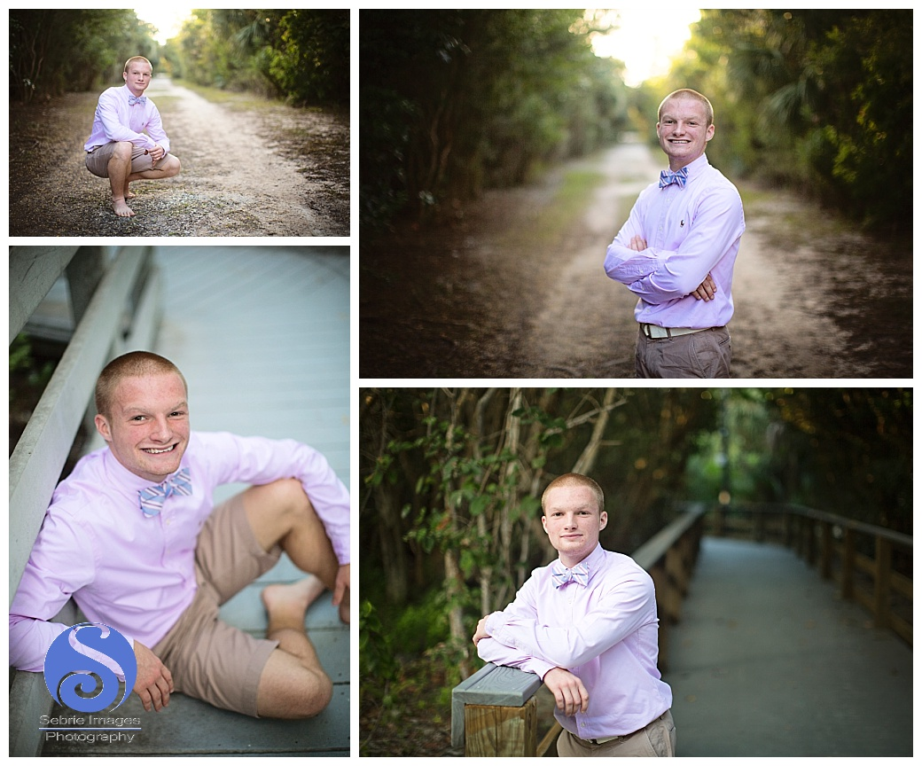 Sanibel Lighthouse Florida Senior Portrait Photography