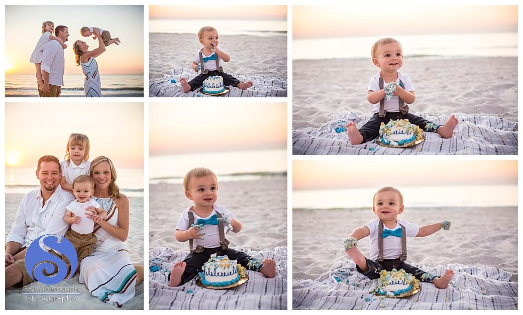 Birthday Cake Smash Family Child Photography