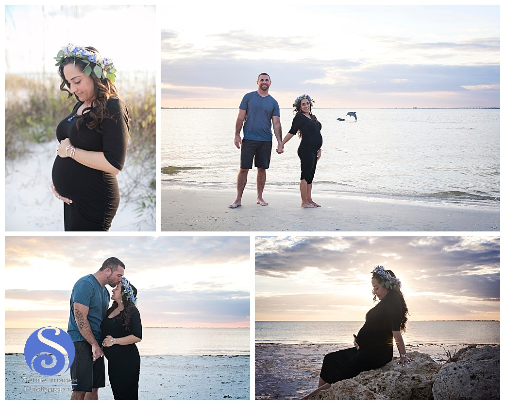 Maternity Photography Fort Myers Beach Bowditch Park Florida