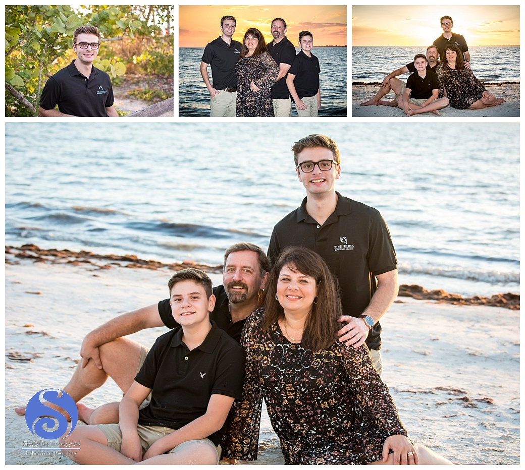 Pink Shell Resort Fort Myers Beach Family Portraits Florida