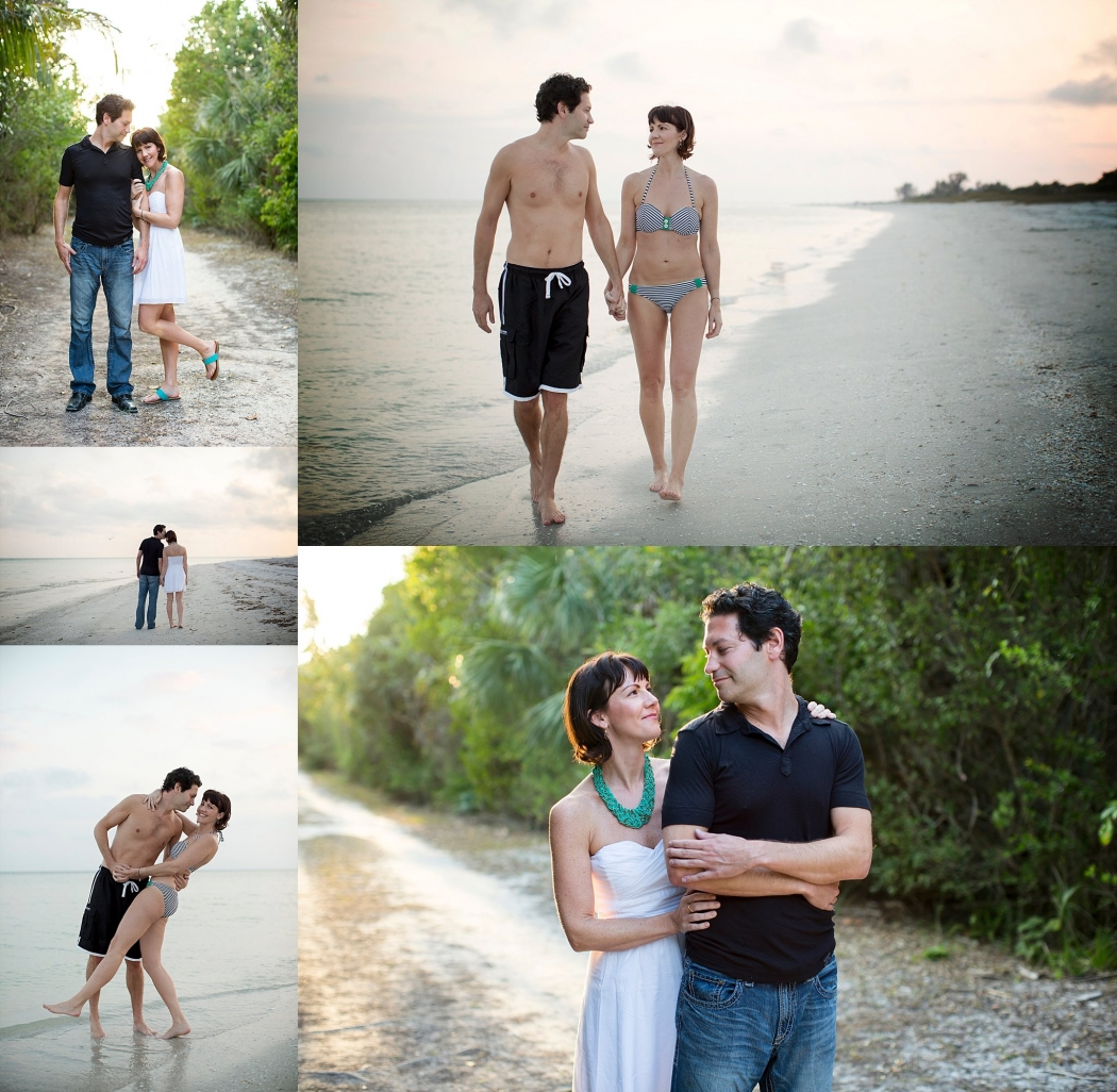 Sanibel Lighthouse Beach Couples Portrait Photography Florida