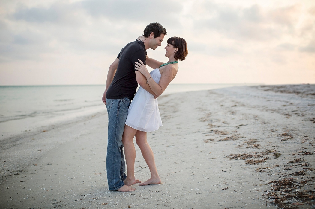 Sanibel Lighthouse Beach Couples Portrait Photography Florida