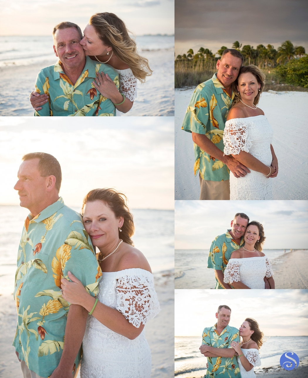 Couples Portrait Photography Pink Shell Resort Fort Myers Beach Florida Sebrie Images