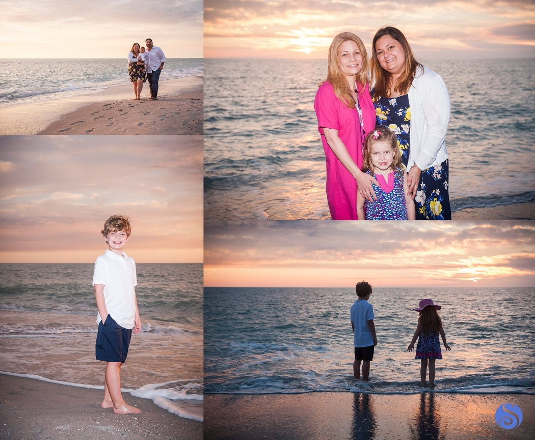 Family portraits at South Seas Island Resort Captiva Florida