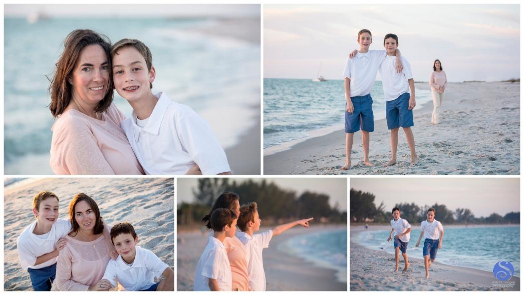 A Beautiful Family Portrait at South Seas Island Resort