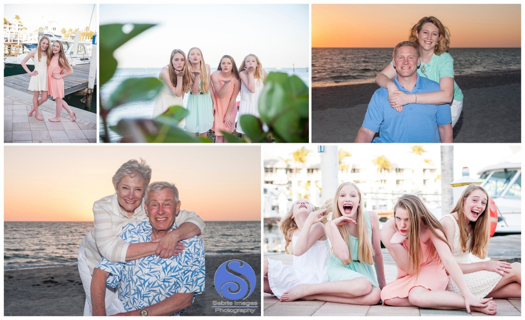 Family Portraits at South Seas Island Resort