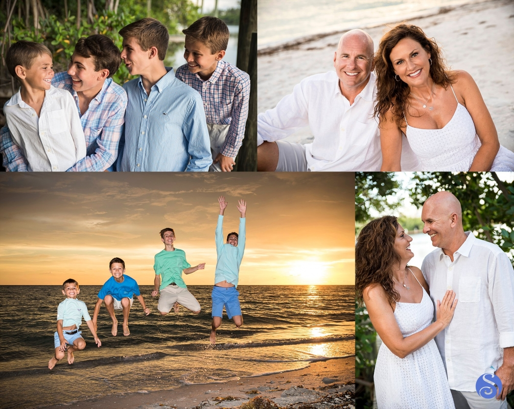 Family Beach Portrait Photography Palm Island Florida Englewood